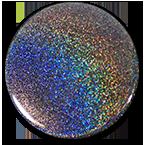 Knopf mehrfarbig glitzer
