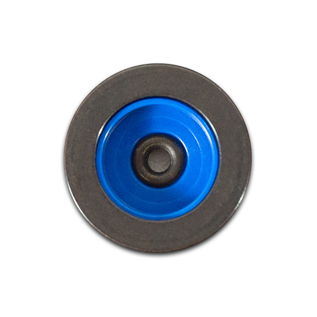 Knopf Casual schwarz blau