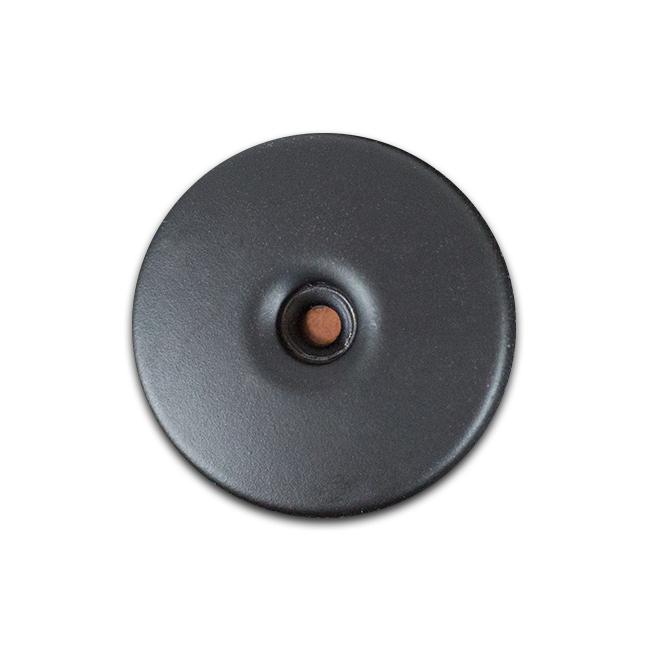 Knopf Casual schwarz