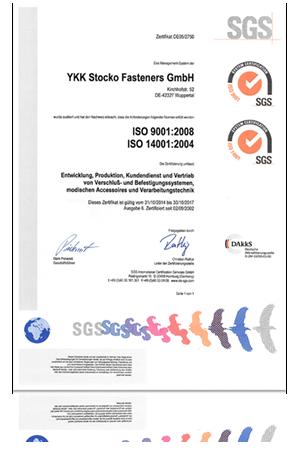 Verantowrtung Zertifikat ISO