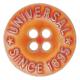 Knopf 29041 orange