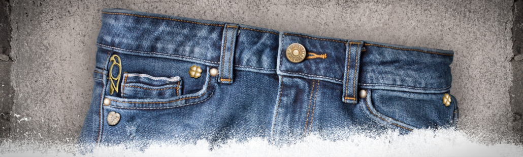 Knopfserien Denim