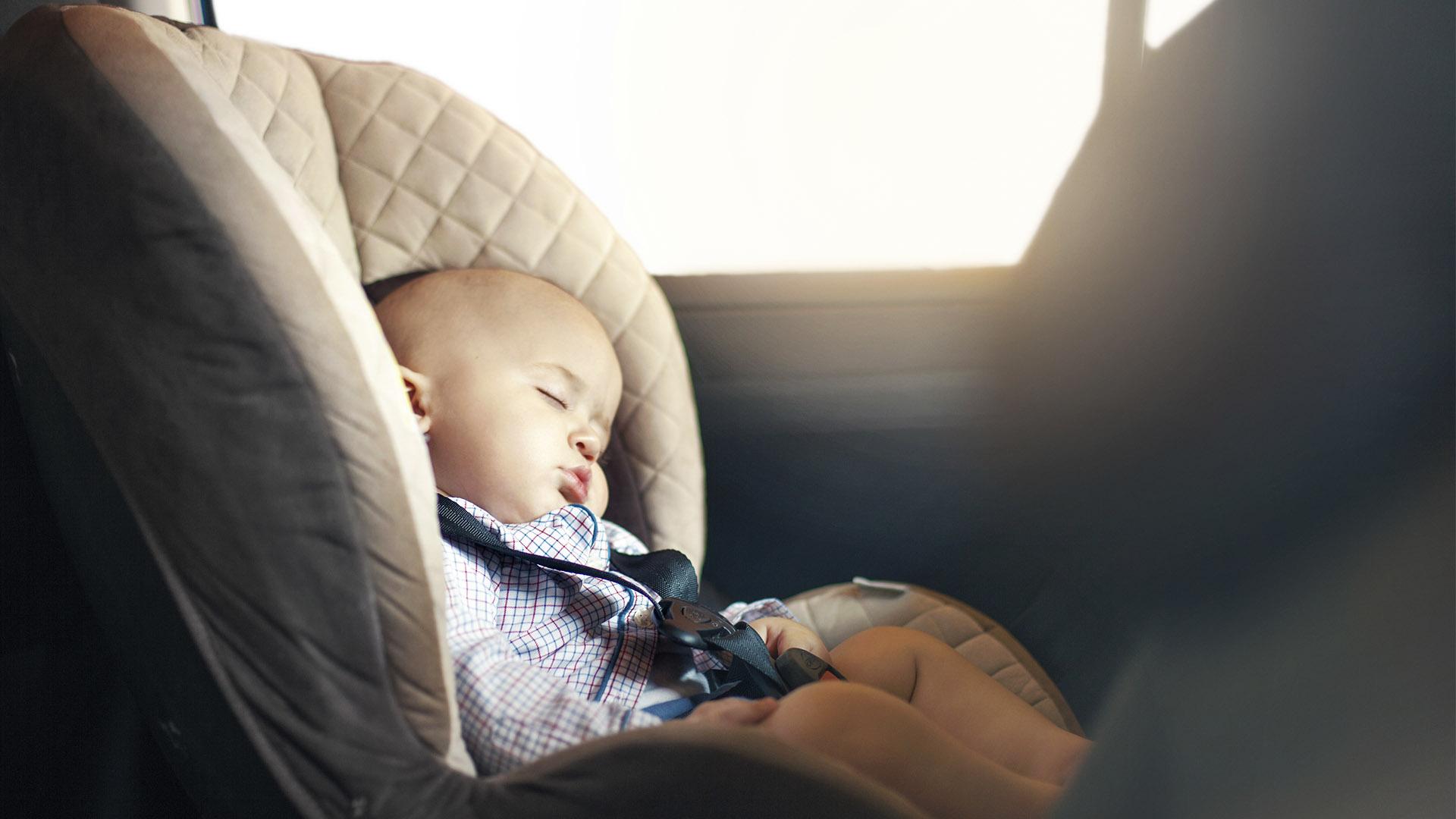 Druckknopf Kindersitz