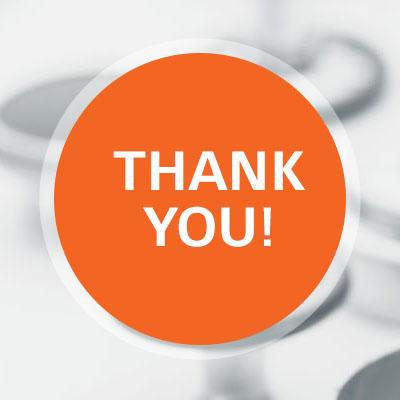 We say thank you! Beitragsbild